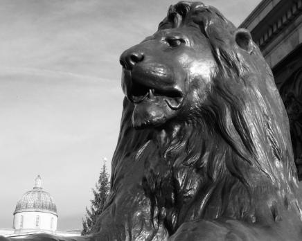 Landseer Lions at Trafalgar Square