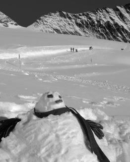 Lindt the snowman
